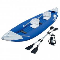 Oppblåsbar Kajakk Hydro-Force Kayak 65061 - 385x93cm - 2 pers