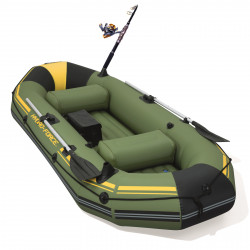 Oppblåsbar Gummibåt Hydro-Force MarinePro 65096 - 291x127cm - 2+1 pers